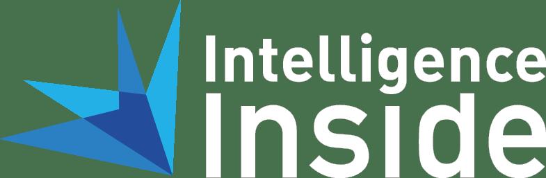 intelligence inside - logo white